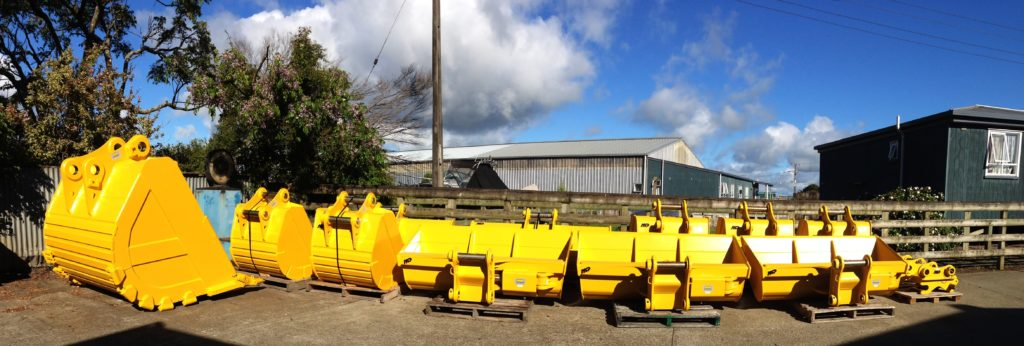 NSP Excavator Buckets NZ made